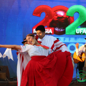 Огненный танец перуанцев