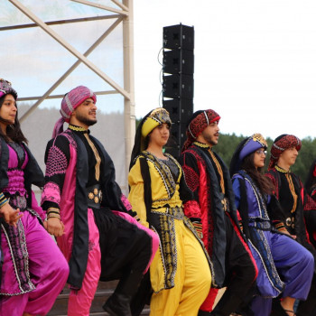 Завораживающий танец Палестины