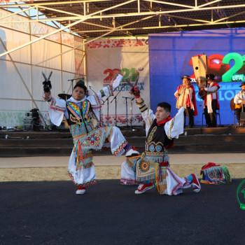 Танец артистов из Перу захватывает дух